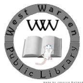 LogoforWestWarrenLibrarybw2